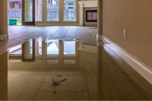 water damage and flooring restoration